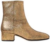Joseph 40mm Crackled Metallic Leather Boots
