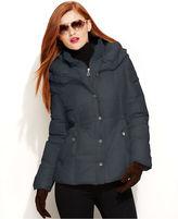 DKNY Jacket, Pillow-Collar Down Puffer