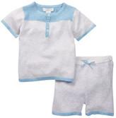 Angel Dear Castle Top & Short (Baby Boys)