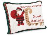 Sudha Pennathur Embellished Santa Pillow
