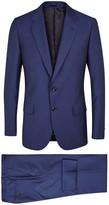 Paul Smith Mayfair Dark Blue Wool Blend Travel Suit