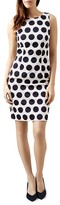 Hobbs London Regan Polka Dot Dress