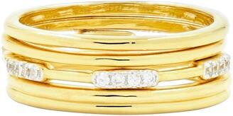 Freida Rothman Radiance Stacking Ring