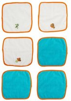 Disney Baby Washcloth Set, Blue/Orange Finding Nemo (6 Pack) by