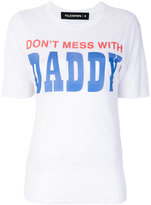 Filles a papa Daddy distressed T-shirt