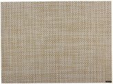 Chilewich Basketweave Rectangle Placemat - White/Gold