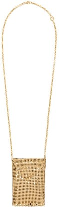 Paco Rabanne Chain Mesh Pendant Necklace