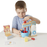 Melissa & Doug 10-Pc. Play Wooden Make A Cake Mixer Set Food