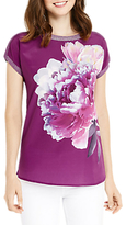 Oasis Digital Floral Dream T-Shirt, Deep Pink