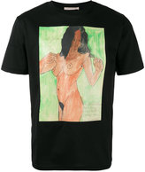 Christopher Kane body print unisex T-shirt - men - Cotton - M