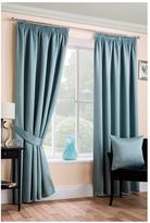 Very Plain Dye Blackout Unlined 3in Curtains