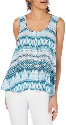 Style&Co. Style & Co. Petite Printed Swing Tank Top
