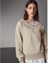Burberry Off-the-shoulder Sweatshirt