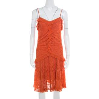 Christian Dior Orange Viscose Dresses