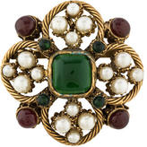 Chanel Gripoix Brooch