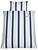 Zöllner Julius 8420119603 Applique - Team (Stripe Bed Sheet Set 100 x 135 cm and 40 x 60 cm