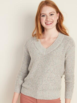 Old Navy Soft Slouchy V-Neck Sweater for Women