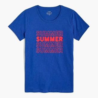 J.Crew Summer graphic tee