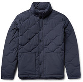 Saturdays Nyc Tyson Quilted Cotton-Blend Hooded Down Jacket