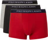 Polo Ralph Lauren - Three-pack Stretch-cotton Boxer Briefs