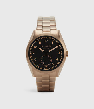 AllSaints Untitled VII Khaki Stainless Steel Watch