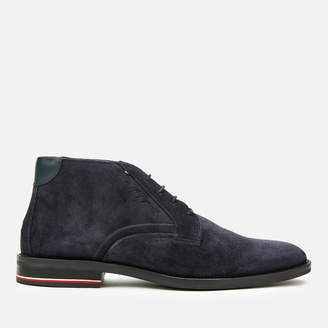 Tommy Hilfiger Tommy Men's Signature Suede Desert Boots - Midnight