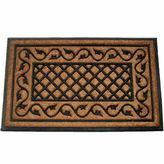 Asstd National Brand Ivy Lattice Doormat