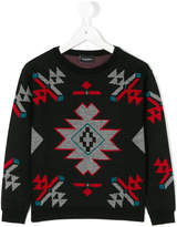 Marcelo Burlon County Of Milan Kids geometric print jumper