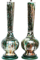 One Kings Lane Vintage,  Green/silver/multi, In Stock