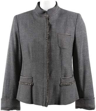 Armani Collezioni Grey Wool Jackets