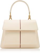 Marni Attache Medium Leather Shoulder Bag