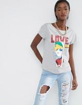 Love Moschino Hugging Heart T-shirt