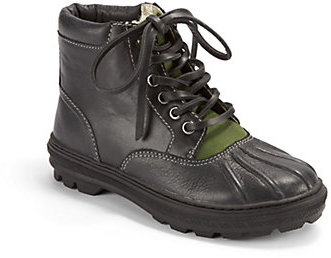 Cole Haan Boy's Lace-Up Duck Boots