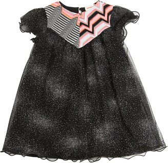 Missoni Glittered Tulle & Knit Party Dress
