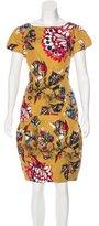 Carolina Herrera Printed Silk Dress
