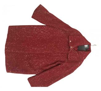 Liu Jo Liu.jo Red Wool Coats