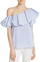 MLM Label Ruffle One Shoulder Top - 100% Exclusive