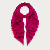 Bally Fringed Jacquard Scarf