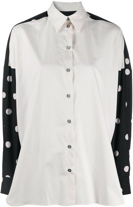Paul Smith Polka-Dot Back Shirt