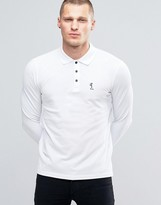 Religion Long Sleeve Pique Polo