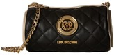 Love Moschino Cylinder Quilted Crossbody Bag