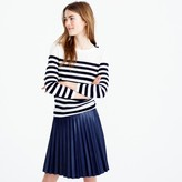J.Crew Tippi striped sweater with shoulder buttons