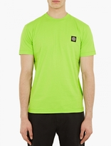 Stone Island Green Logo-Patch T-Shirt