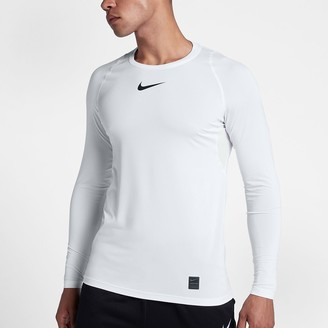Nike Men's Fitted Long-Sleeve Top Pro Top