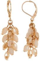Joe Fresh Cluster Bead Drop Earrings