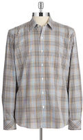 7 Diamonds Plaid Sportshirt
