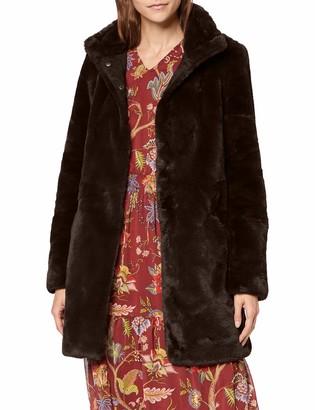Vero Moda Women's Vmvallilea 3/4 Faux Fur Jacket Coat