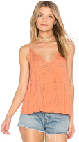 Free People BB Embellished Cami in Pink
