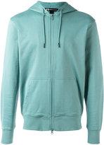 Y-3 zipped hoodie - men - Cotton - L