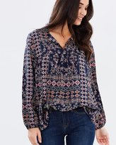 Jag Filigree Print Blouse